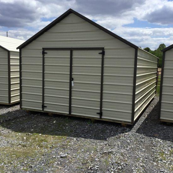 12x20 EMUT Economy Metal Utility Shed