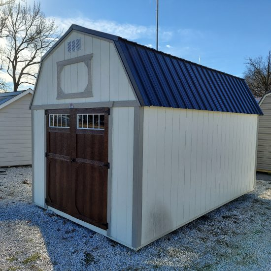 10x16 Lofted Barn Shed Front