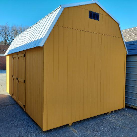10x16 Best Value Wood Side Lofted Barn