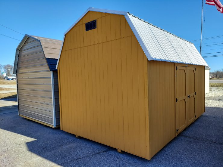 10x16 Best Value Wood Lofted Barn