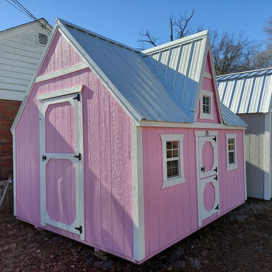 10x12 Victorian Playhouse Front