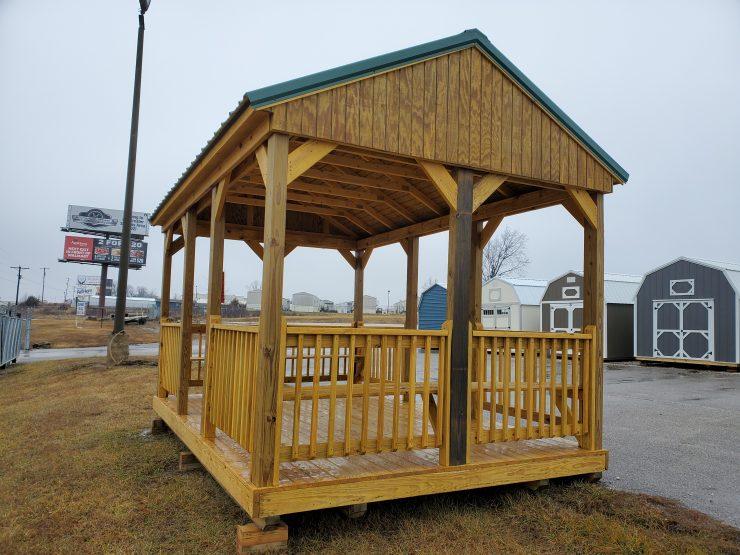 10x16 Cabana, Gazebo, Portable Pavilion Front