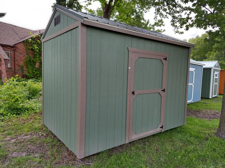 8x12 Side Entry Utility Shed